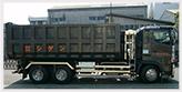 収集運搬事業車